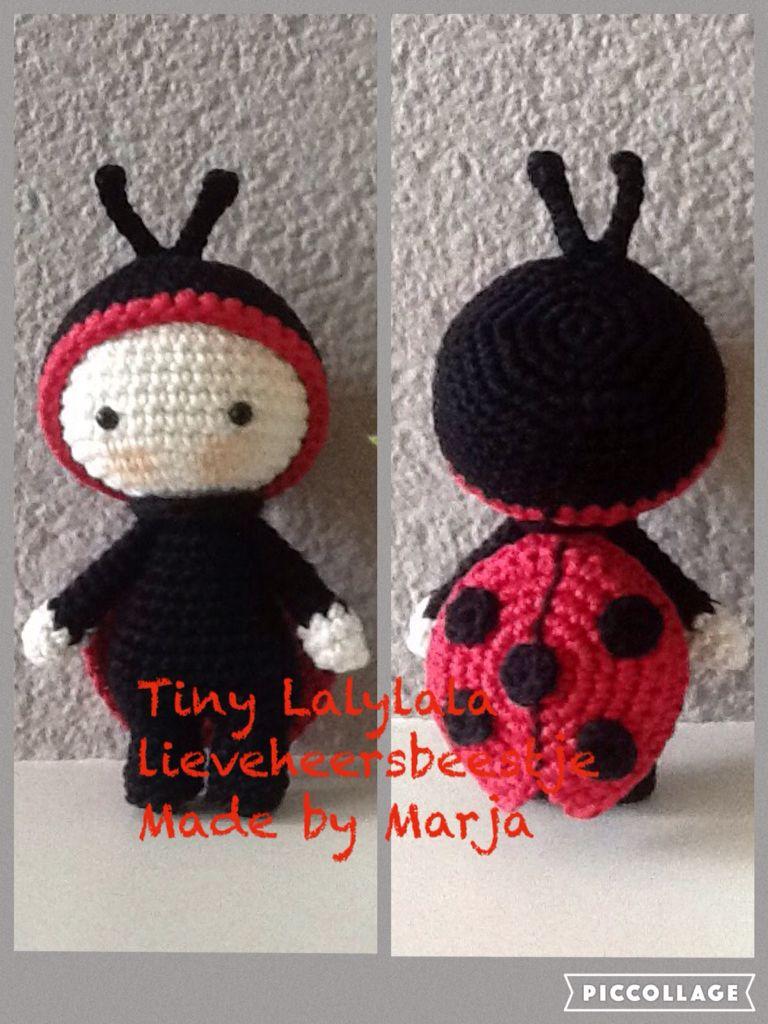 Crochet tiny lalylala ladybug coccinelle lieveheersbeestje crochet tiny lalylala ladybug coccinelle lieveheersbeestje tiny lalylala 10 cm bankloansurffo Choice Image
