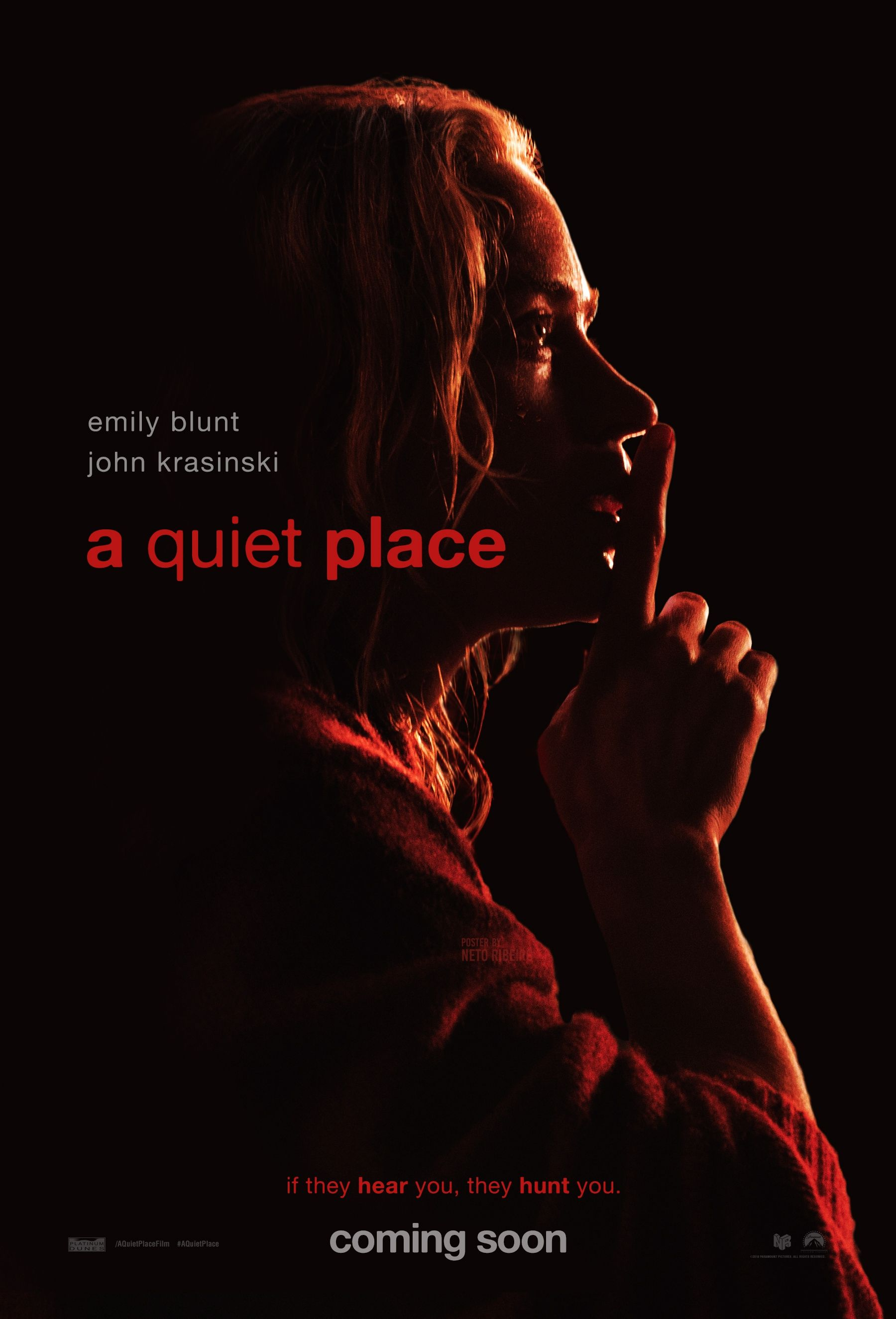 A Quiet Place (2018) [1800 x 2651] Definitely want to check