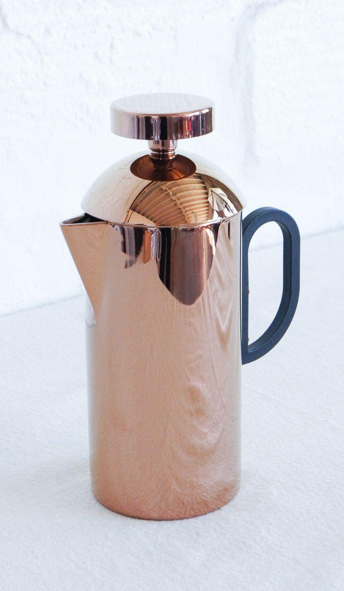 tom dixon copper french press  french press tom dixon and coffee - tom dixon copper french press