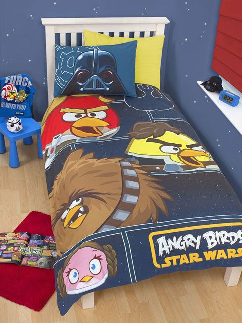Angry Birds Star Wars Rebels Single, Angry Birds Star Wars Full Size Bedding