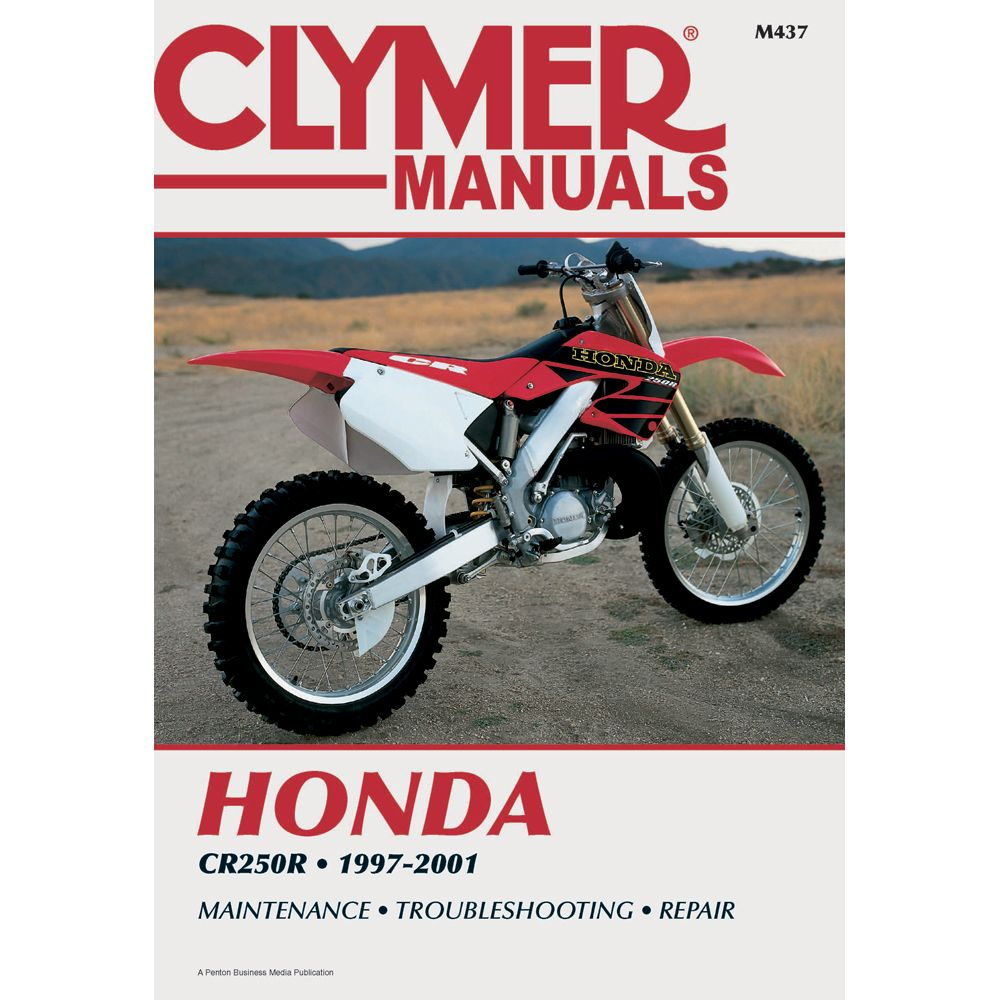 Clymer Honda CR250R (1997-2001) - https://www.boatpartsforless · Repair  ManualsBoat ...