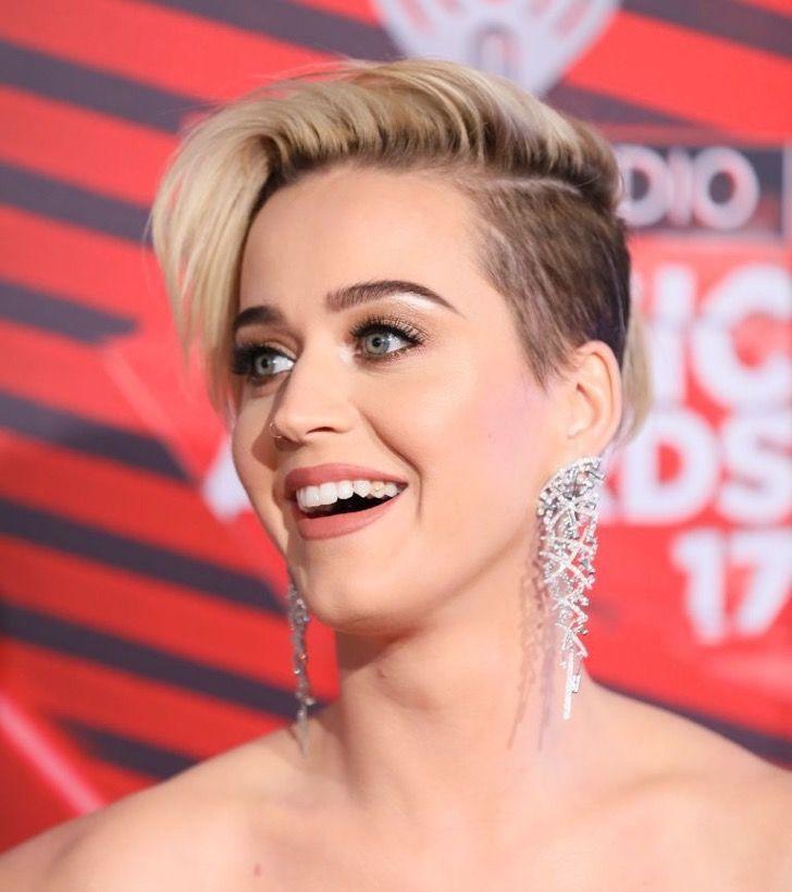 Katy Perry lucía elegante y hermosa en la alfombra roja. Incluso con comida en sus dientes