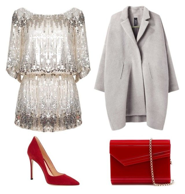 """""""Untitled #39"""" by rgcast ❤ liked on Polyvore featuring Zero + Maria Cornejo, Jimmy Choo and Gianvito Rossi"""