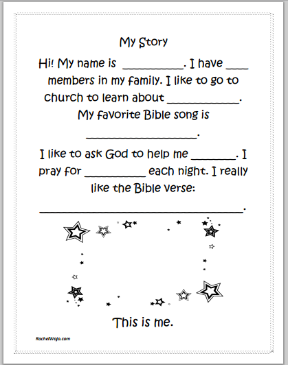Bible Stories For Kids Book Giveaway Free My Story Printable Childrens Church Lessons Bible Stories For Kids Church Lessons