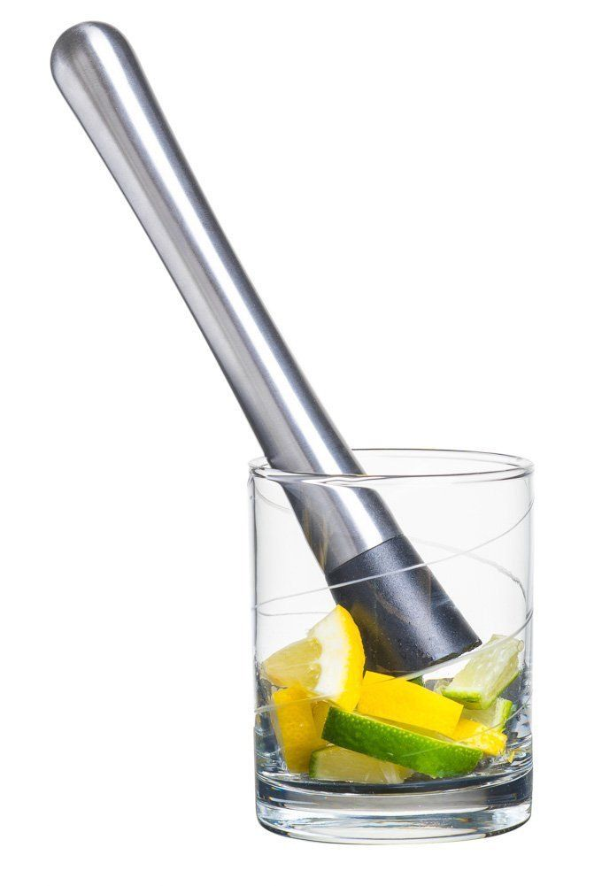 BarPro Stainless Steel Cocktail Muddler Create Delicious Refreshing Cocktails.