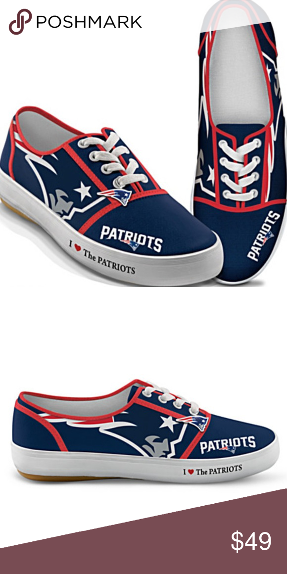Patriots womens, Canvas sneakers, Sneakers