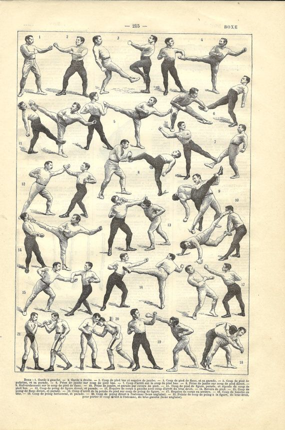 1908 french sport dictionary boxing illustration miscellaneous 1908 french sport dictionary boxing illustration fandeluxe Image collections