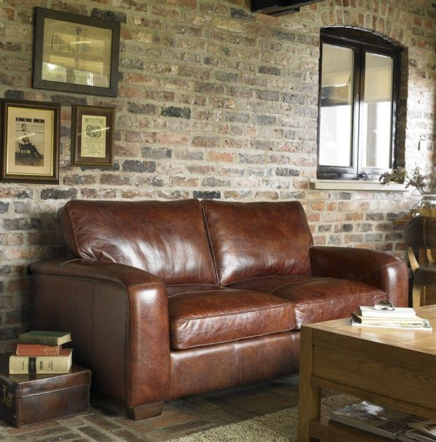 Leather Couch Brick Wall Leather Sofa Vintage Leather Chairs Leather Furniture