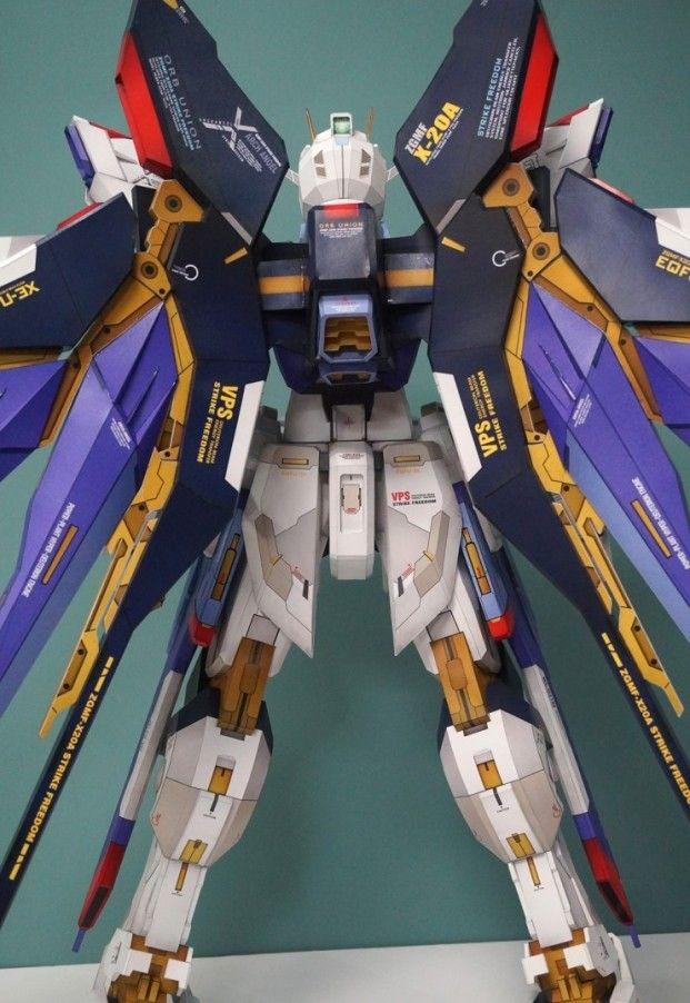 POINTNET.COM.HK - 紙模型!! Strike Freedom Gundam