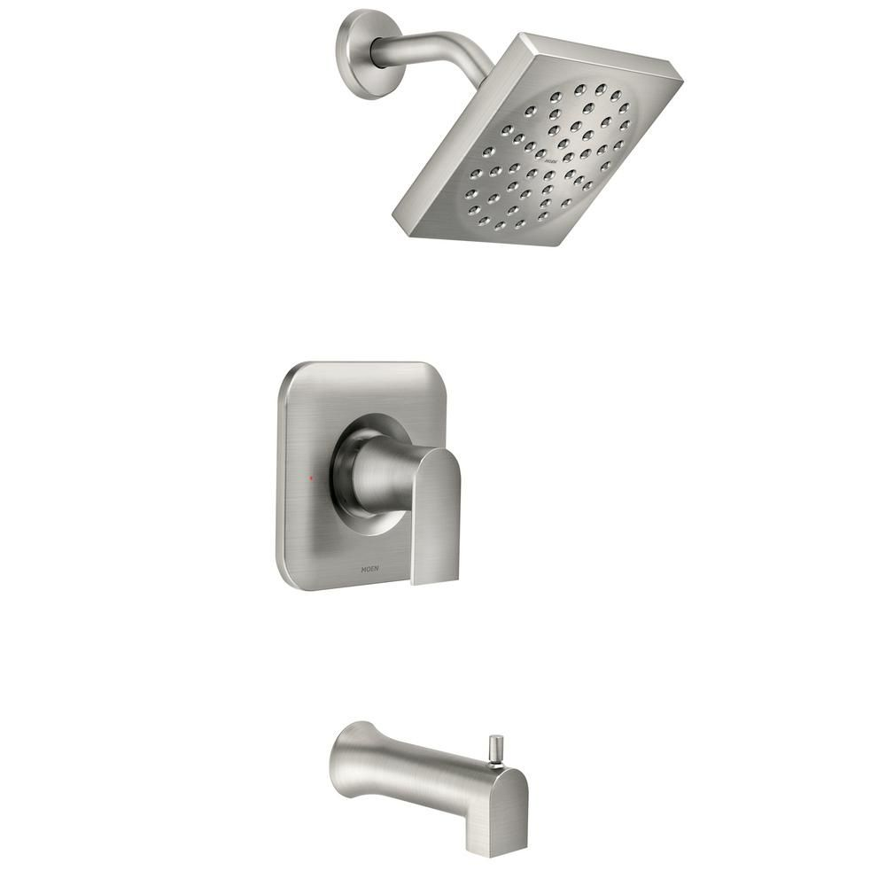 Moen Genta Single Handle 1 Spray Tub And Shower Faucet In Spot