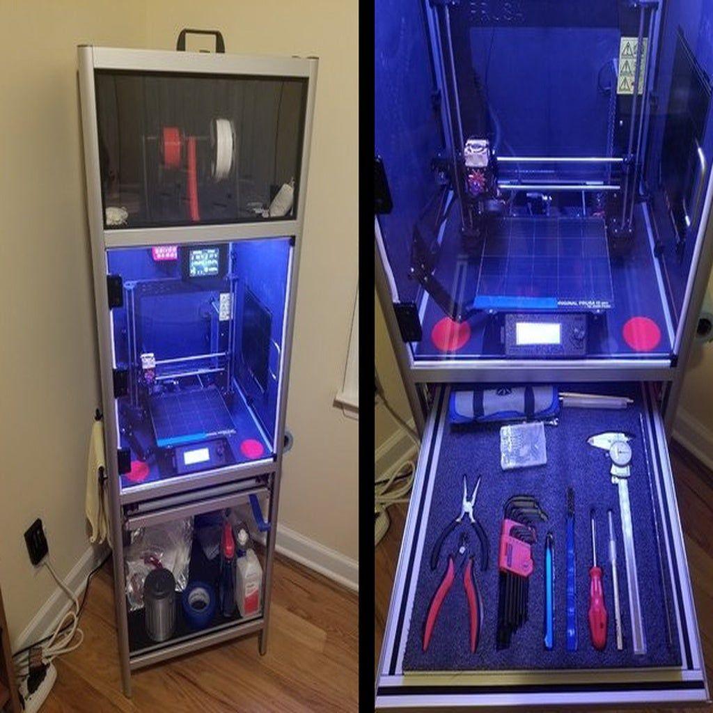 Universal 3D Printer Smart Enclosure by JKSniper