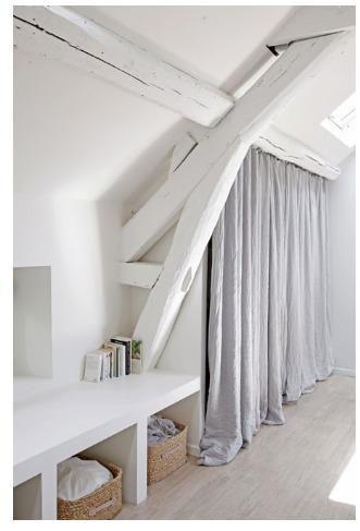 Dressing Combles Habitaciones De Atico Dormitorios