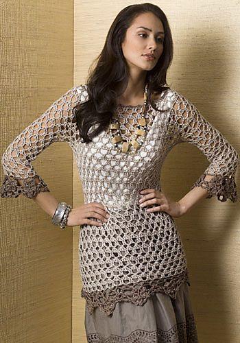 Miraval Tunic By Doris Chan - Free Crochet Pattern - (ravelry ...