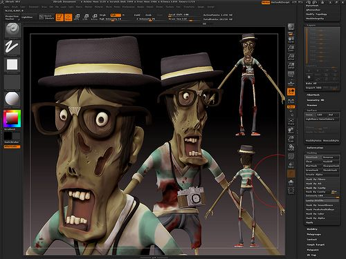 Zombie Hipster by Mr.Antiheroe, via Flickr