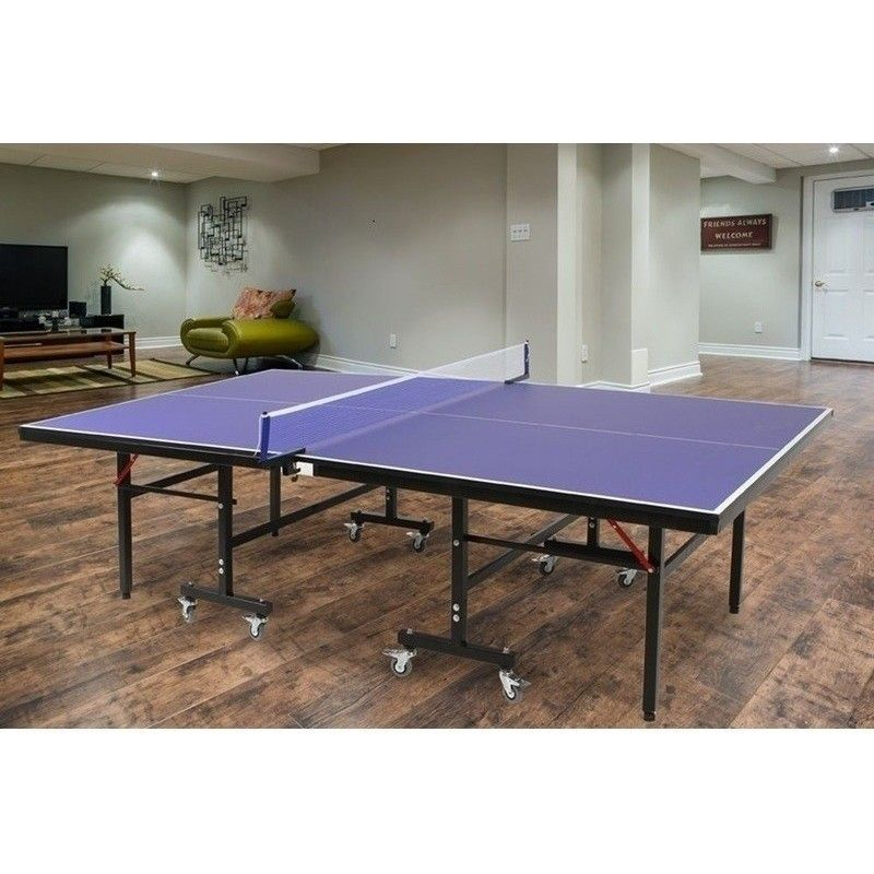 Pro Size Foldable Ping Pong Table Tennis Table 19mm