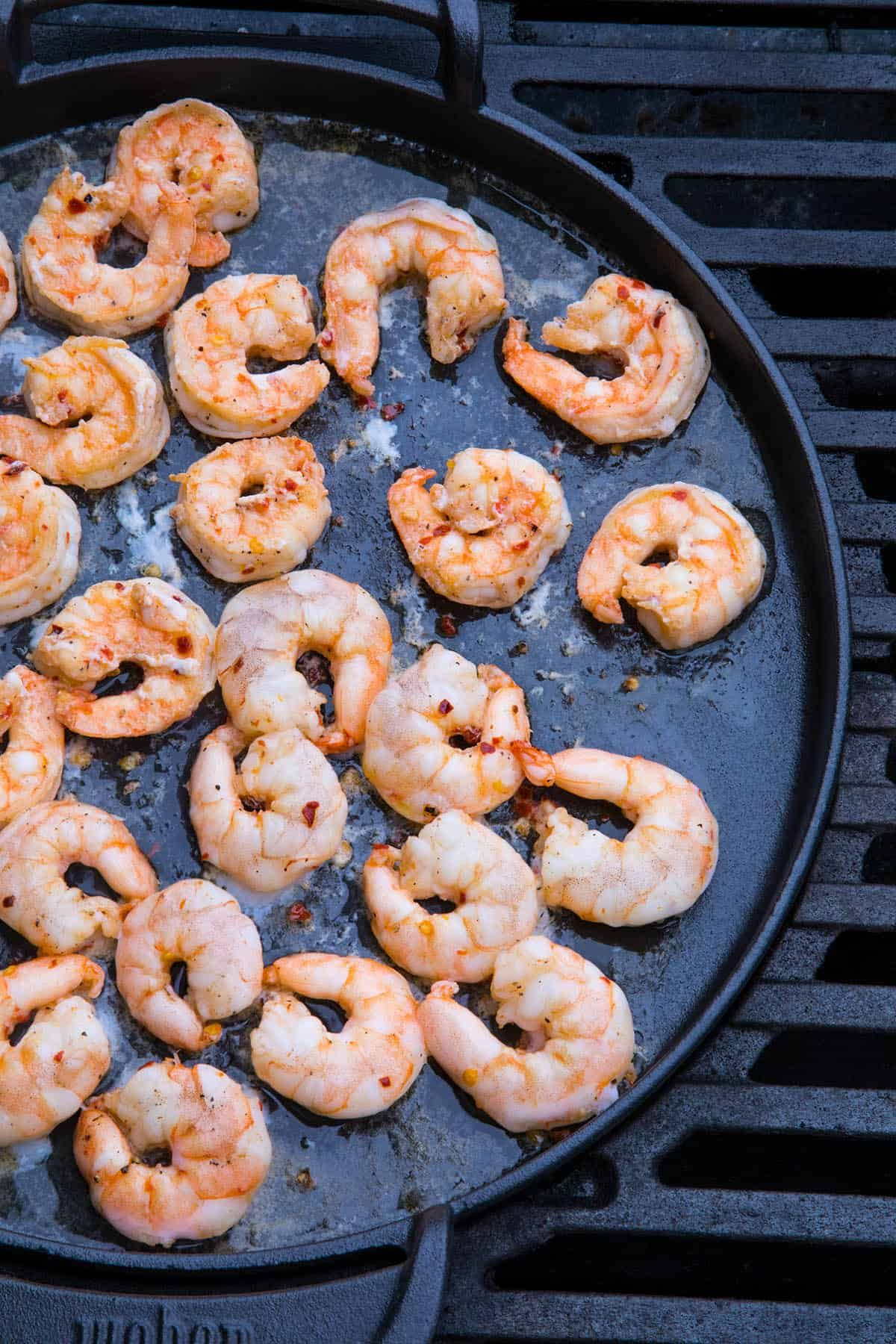 Grilled Buffalo Shrimp