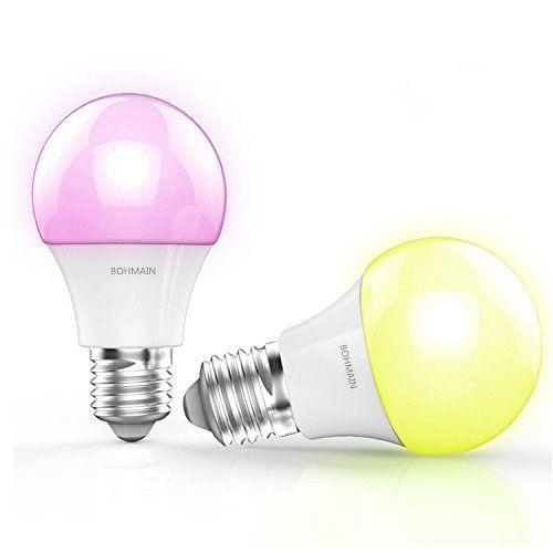 BOHMAIN E27 LED a Risparmio Energetico Lampade RGB
