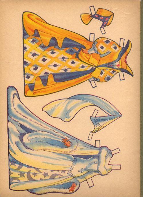 VINTGE 1950S CINDERELLA PAPER DOLL LASER REPRODUCTION~LO PRICE~Orig Uncut No1Sel