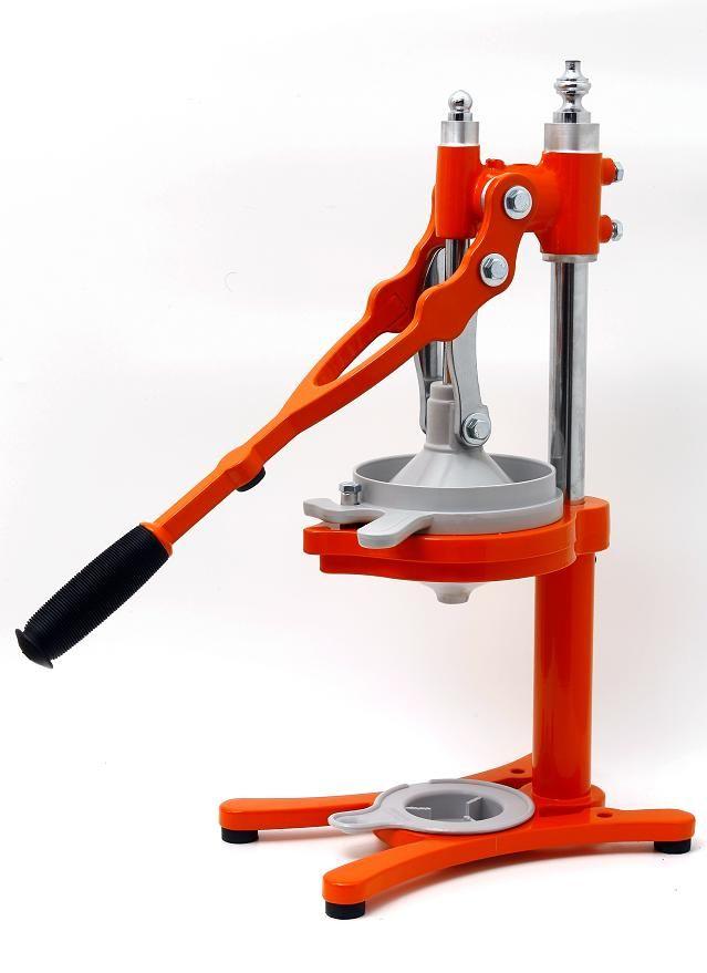 Orange Zaksenberg Juicer Hand Made Since 1928 Juice