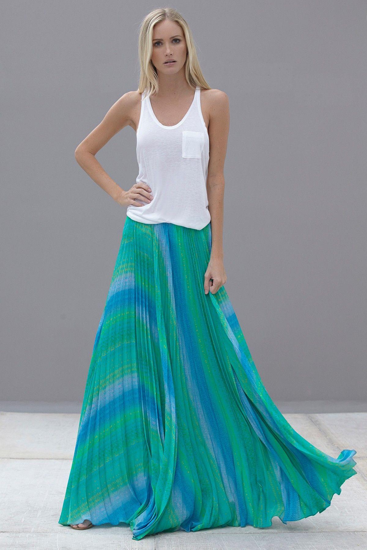 Cecily Silk Skirt » Oh, so lovely.
