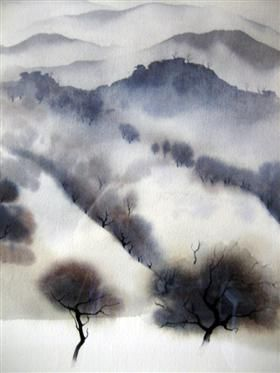 Kalifornien-Landschaft – Eyvind Earle