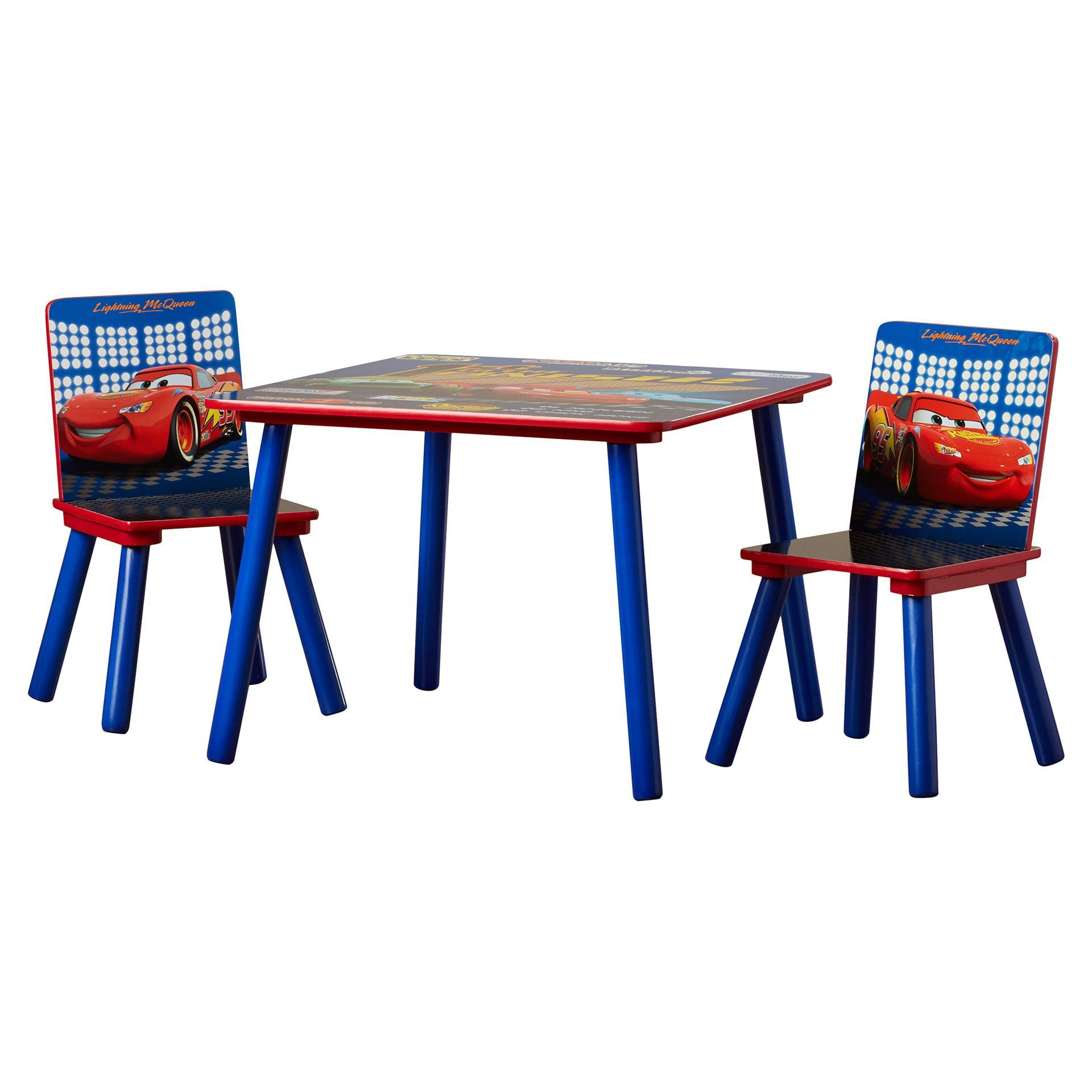 Disney Pixar\'s Cars Kids\' 3 Piece Table & Chair Set | Products ...