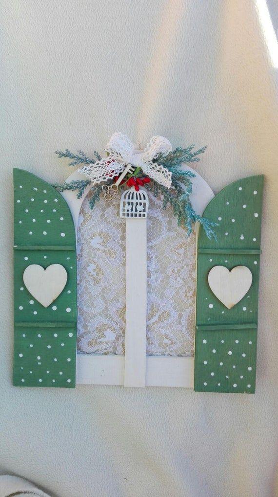 Fairy door wooden decorations – Fairy door wooden tag …