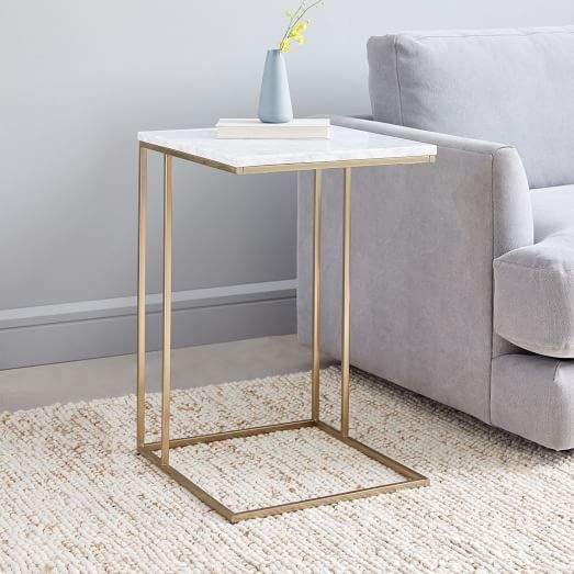 Streamline C Side Table Marble Marble Side Tables Glass Side Tables Side Table Wood