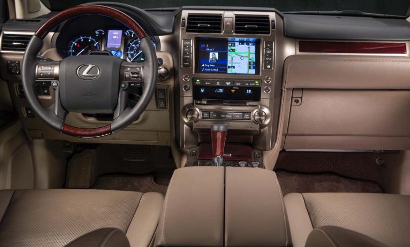 Lexus Gx 460 Interior 2017