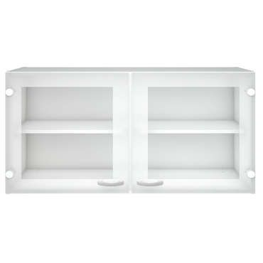 Meuble haut cuisine 2 portes vitrées CASA coloris blanc - pas cher - Conforama Meuble De Cuisine
