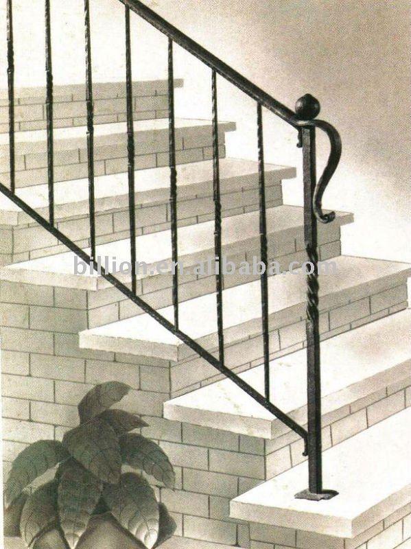 Baranda de escalera buscar con google escaleras pinterest barandas escaleras y - Barandas de forja para escaleras ...