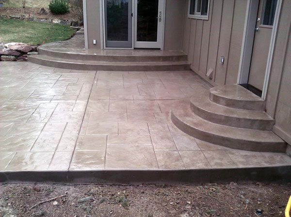 stamped concrete patio stamped concrete is known for its ... - Stamped Patio Designs
