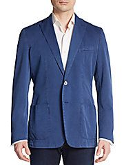 Cotton & Silk Sportcoat
