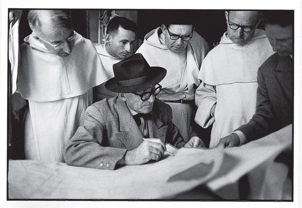 René Burri':Le Corbusier