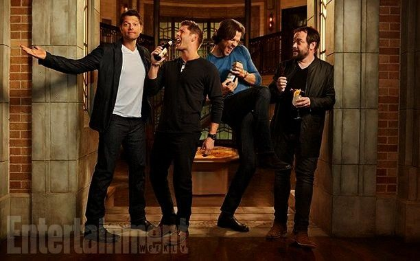Entertainment Weekly con 4 divertenti Foto : Supernatural su Entertainment Weekly con 4 divertenti