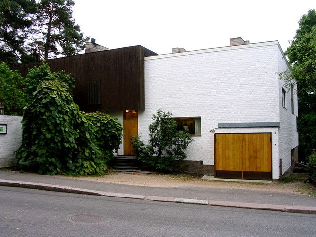 Aino And Alvar Aalto House In Riihitie Helsinki 1934 1936