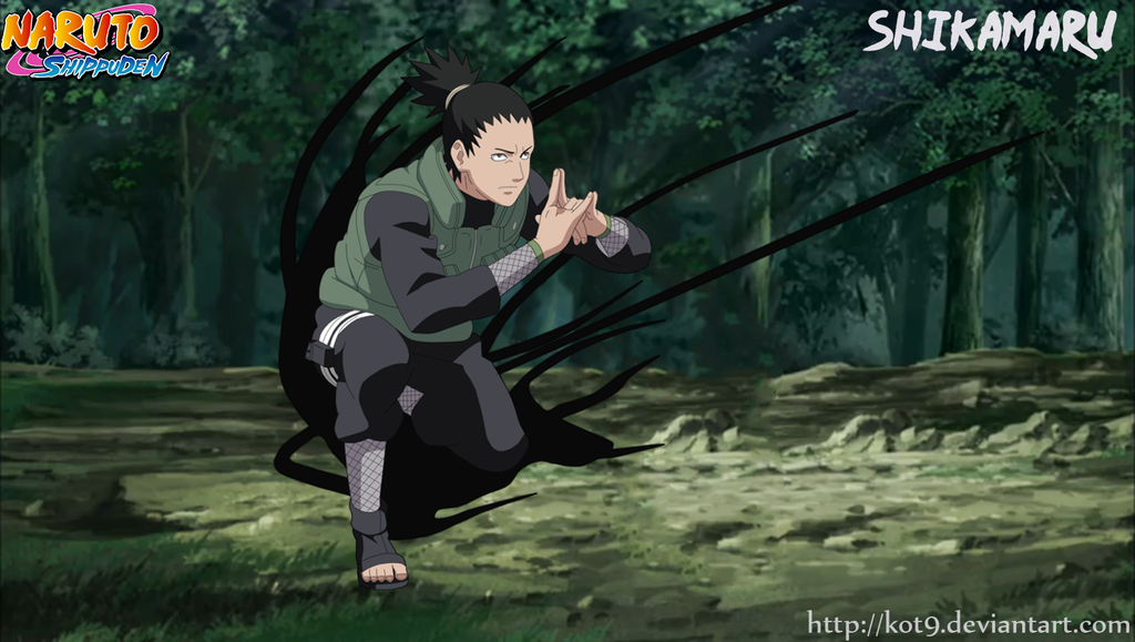 Nara Shikamaru technique Shadow Needle by kot9 | Shikamaru ...