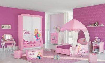 Diseño de Habitaciones de Barbie para Niñas | Bedrooms | Pinterest ...