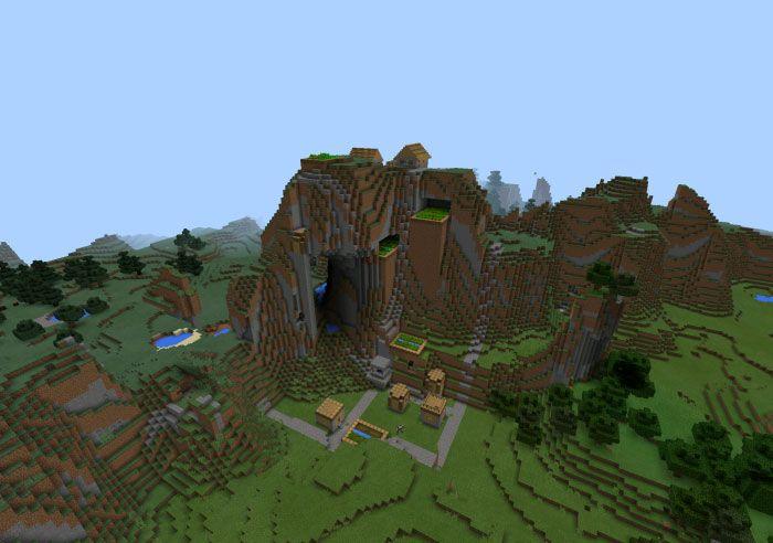 Minecraft PE Seed 2737