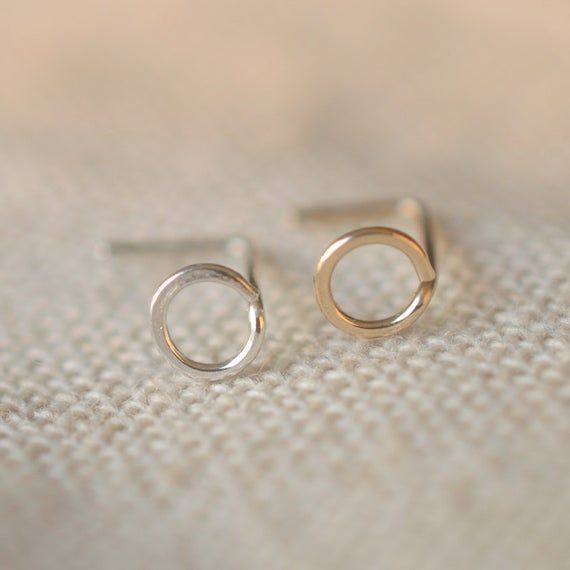 3mm circle nose ring,sterling silver nose ring,L shaped nose ring,bridal gift #nosering