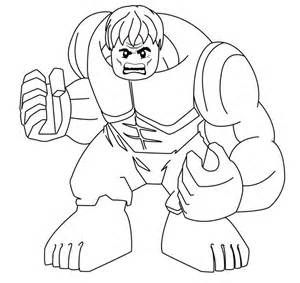 Lego Hulk Superheroes Coloring Pages  Free Coloring Pages For