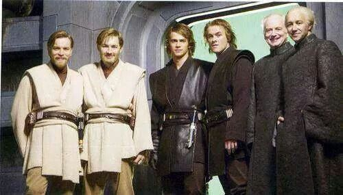 Star Wars Actors With Their Stunt Doubles Star Wars Actors Actor Star Wars