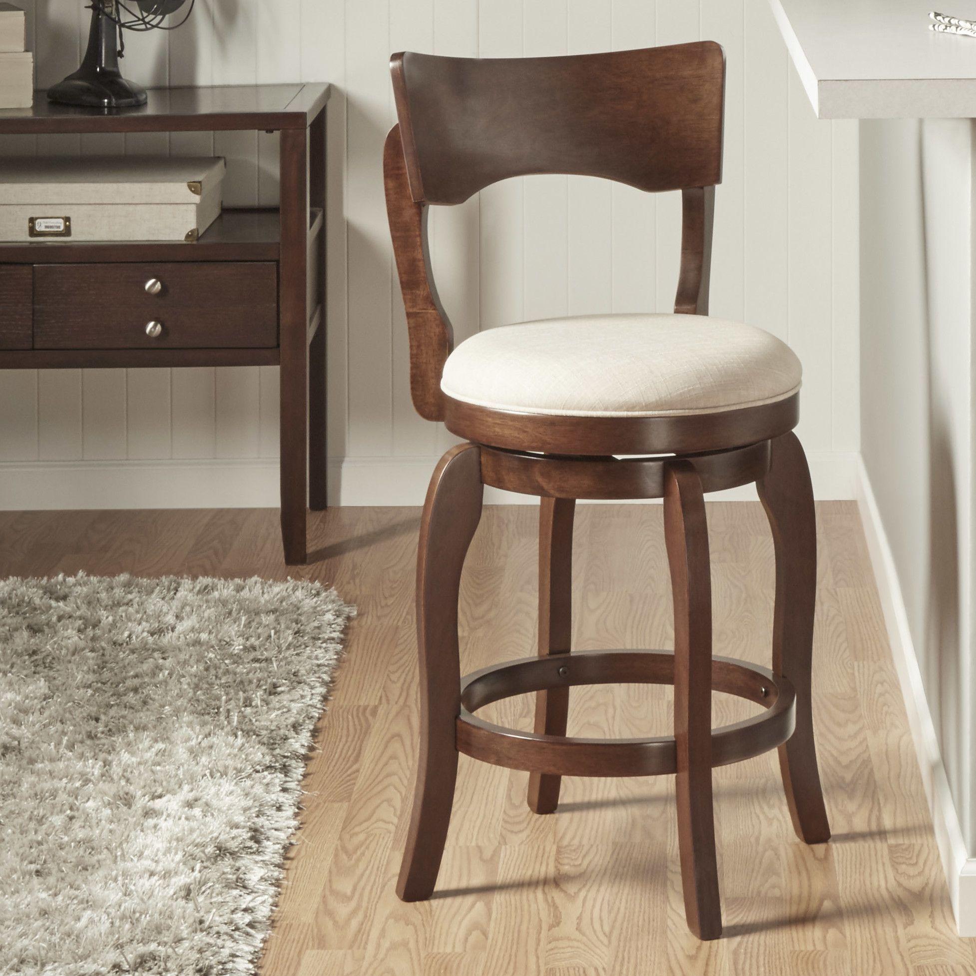 monaghan swivel bar stool with cushion  swivel bar stools