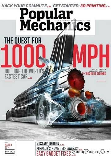 Popular Mechanics USA – March 2014