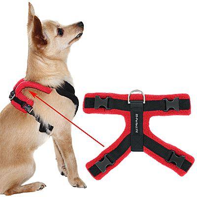 Perfect Fit Modular Fleece Lined Dog Harness Part 3 Top Piece