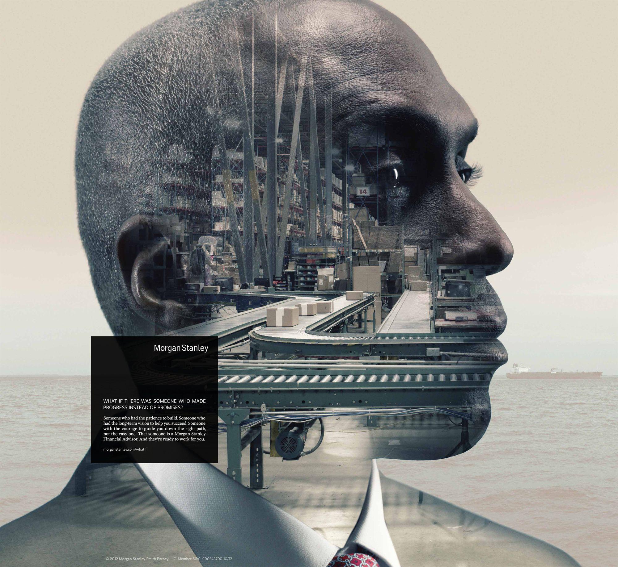 Morgan Stanley: African American Man