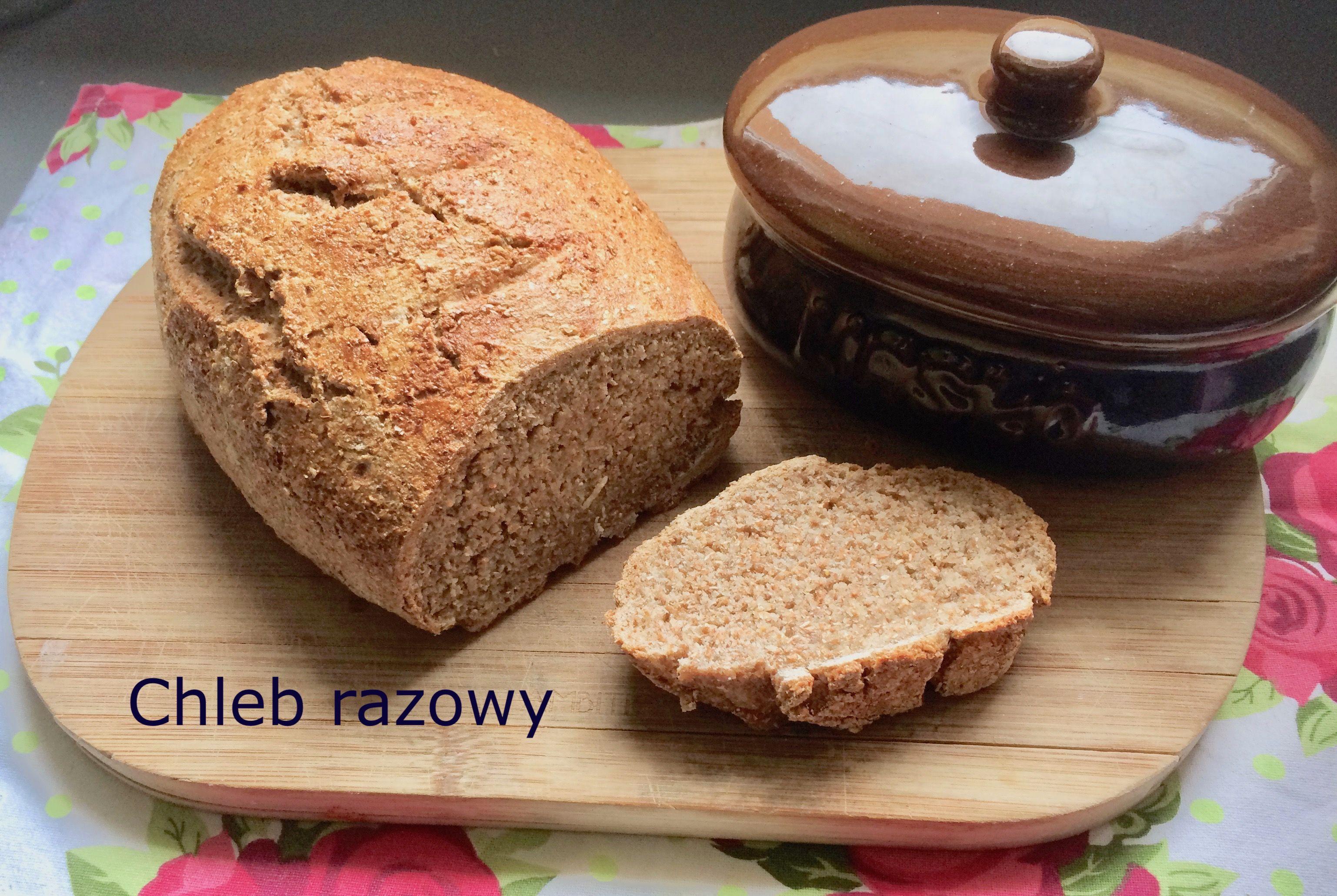 Pyszny Chleb Razowy Bez Zakwasu I Drozdzy Recipe Desserts Food Banana Bread