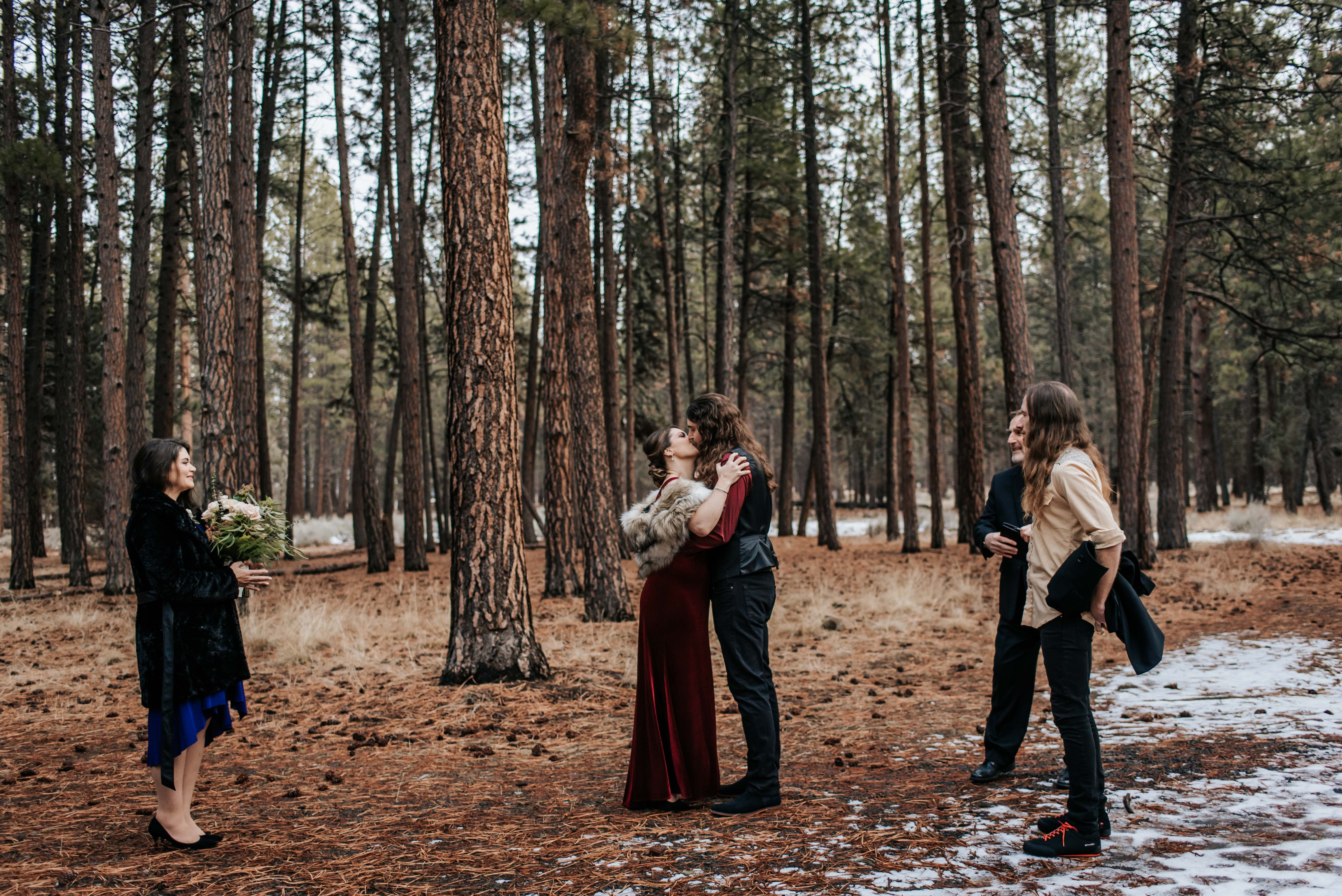 Five Pine Lodge Elopement Photography By Brianna Bender