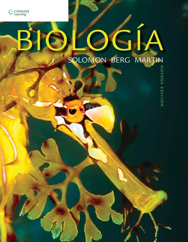 Biología. 9a. Ed. Eldra Solomon, Linda Berg y Diana W. Martin ...
