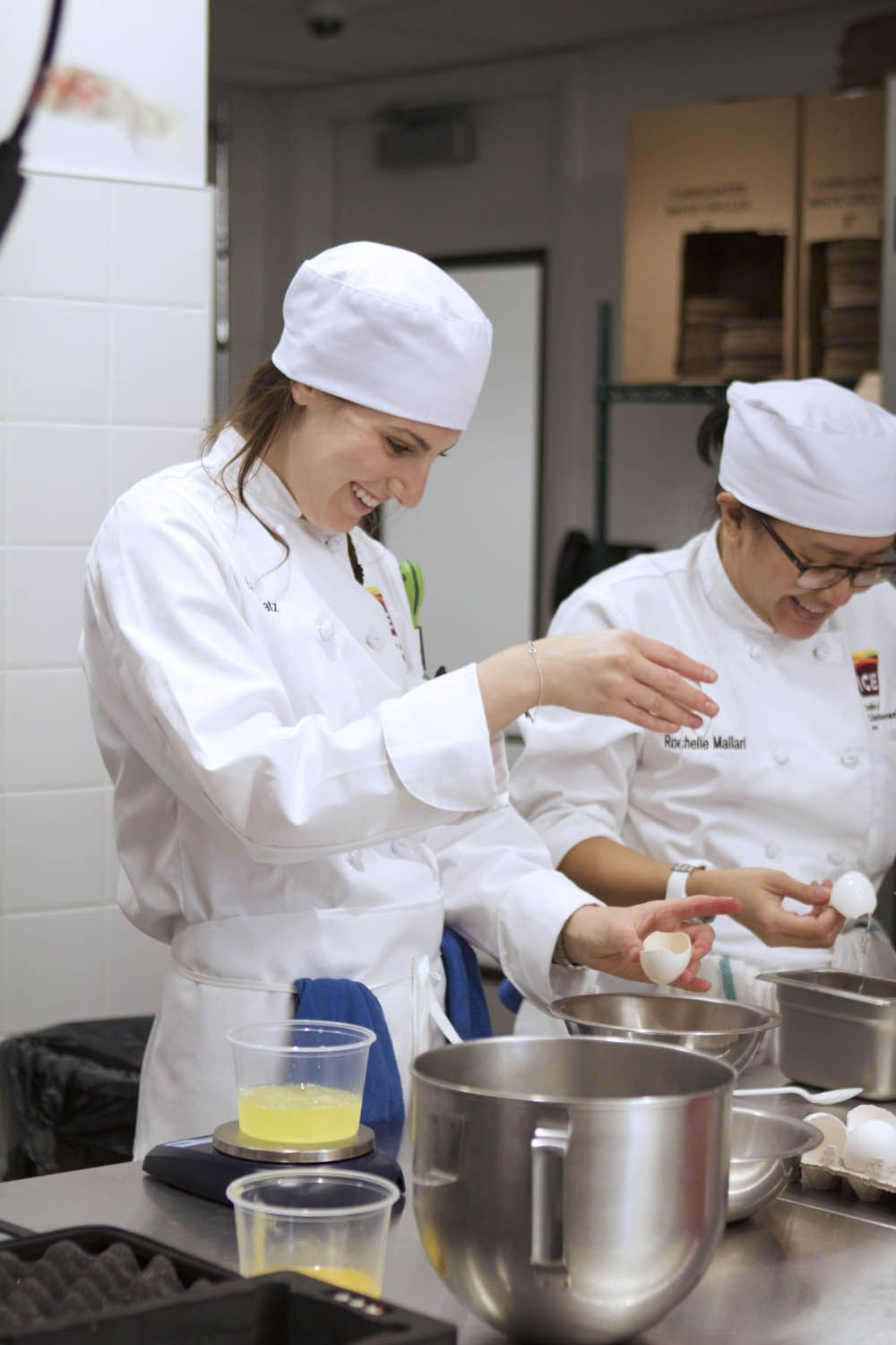 Lauren Katz - Culinary School - Life as a Pastry Student - ICE - Everyday with Rachel Ray -